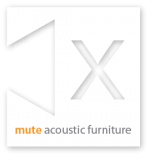 mute acoustic furniture logo