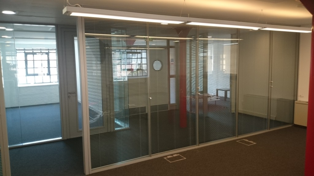Soundproof Office Partitions