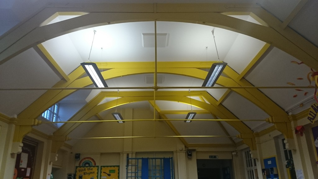 Primary school ceiling