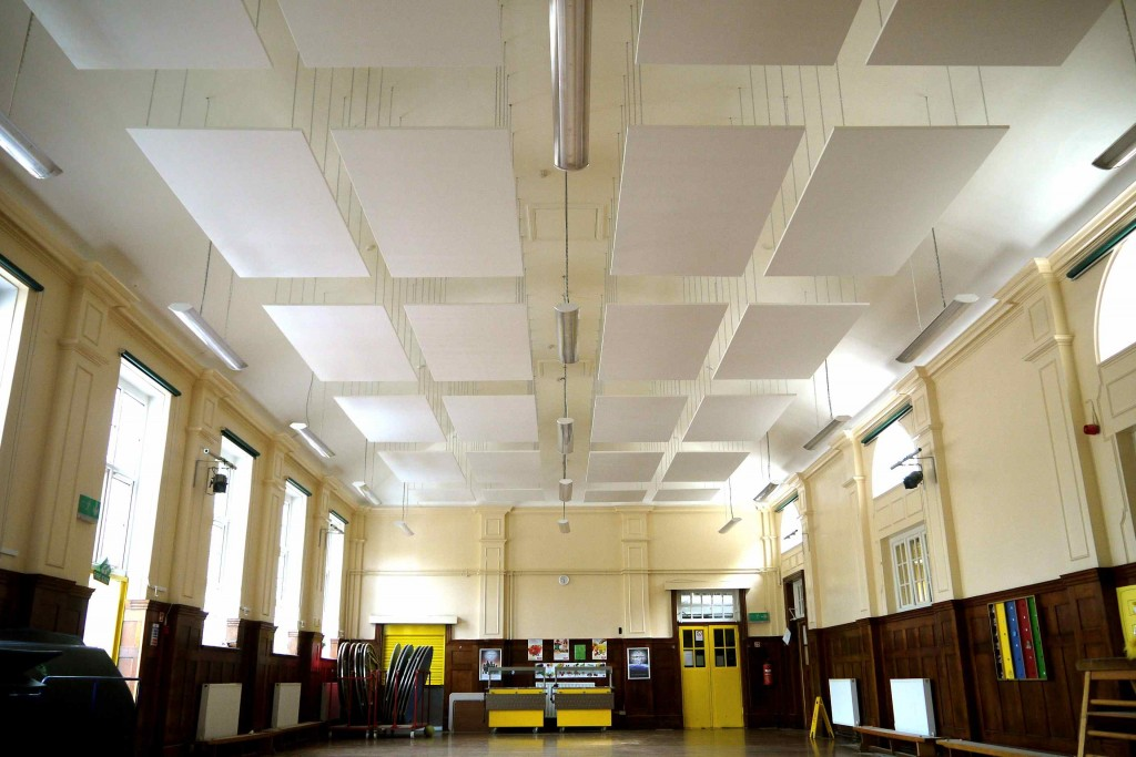 Sound Absorption Panels School Hall