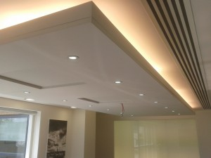 Acoustic Ceiling Application