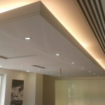 Acoustic Ceiling Inside Boardroom