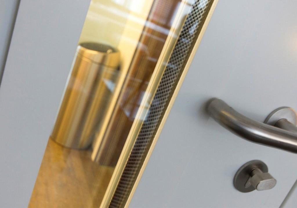 Acoustic Door In Editing Suite