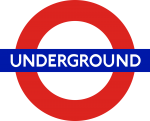 London underground tube logo