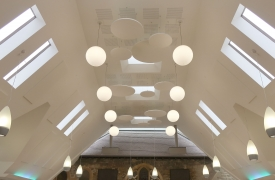 Acoustic Panels In Church Atrium