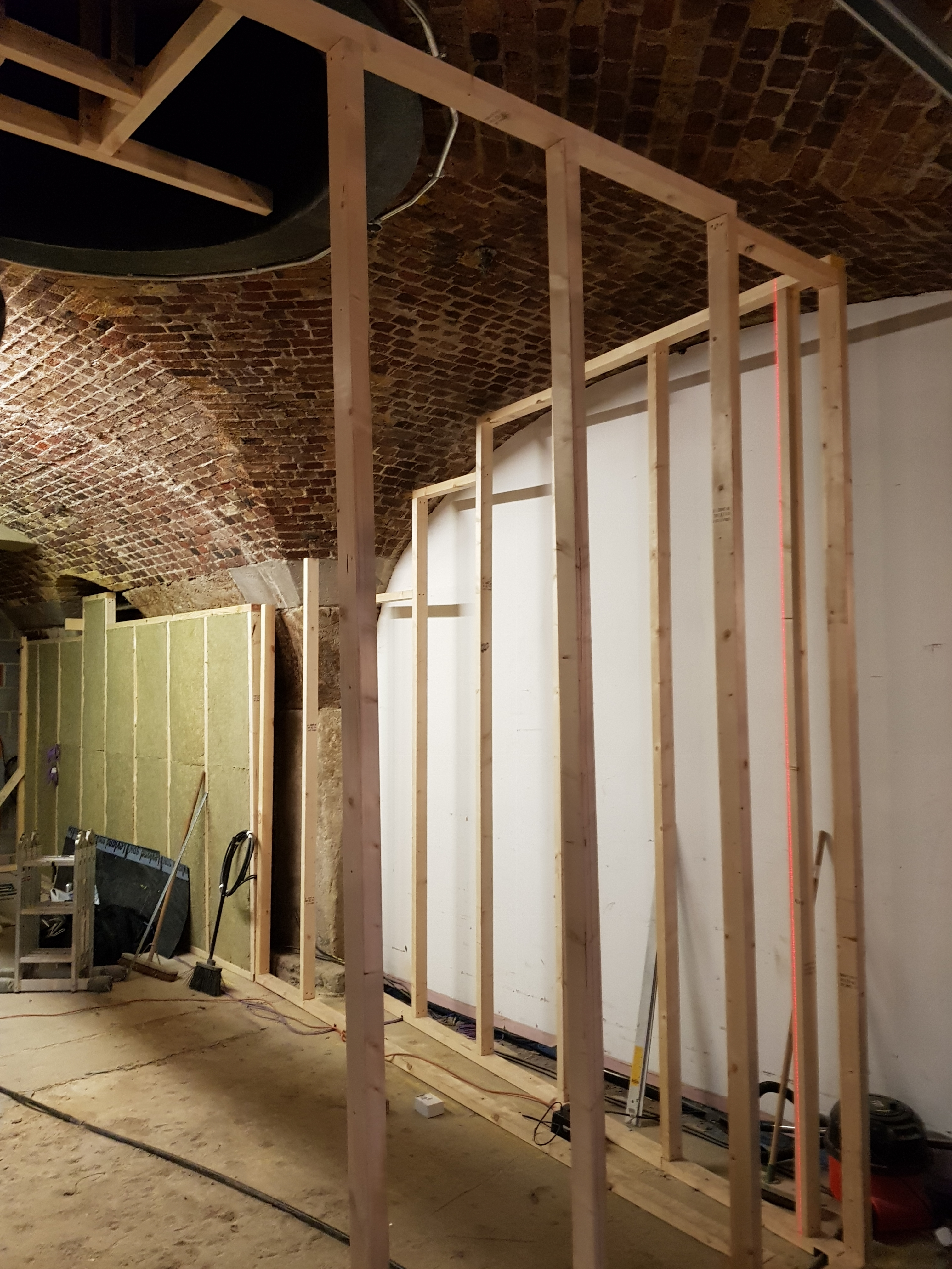 Supporting Framework & Soundproofing Layers In Recording Studio