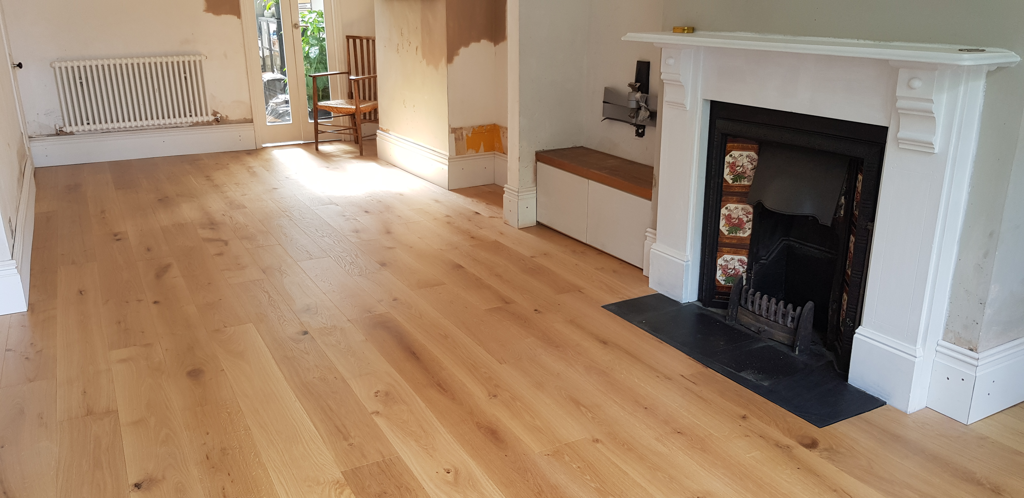 Engineered Timber Floor Atop Acoustic Floating Floor