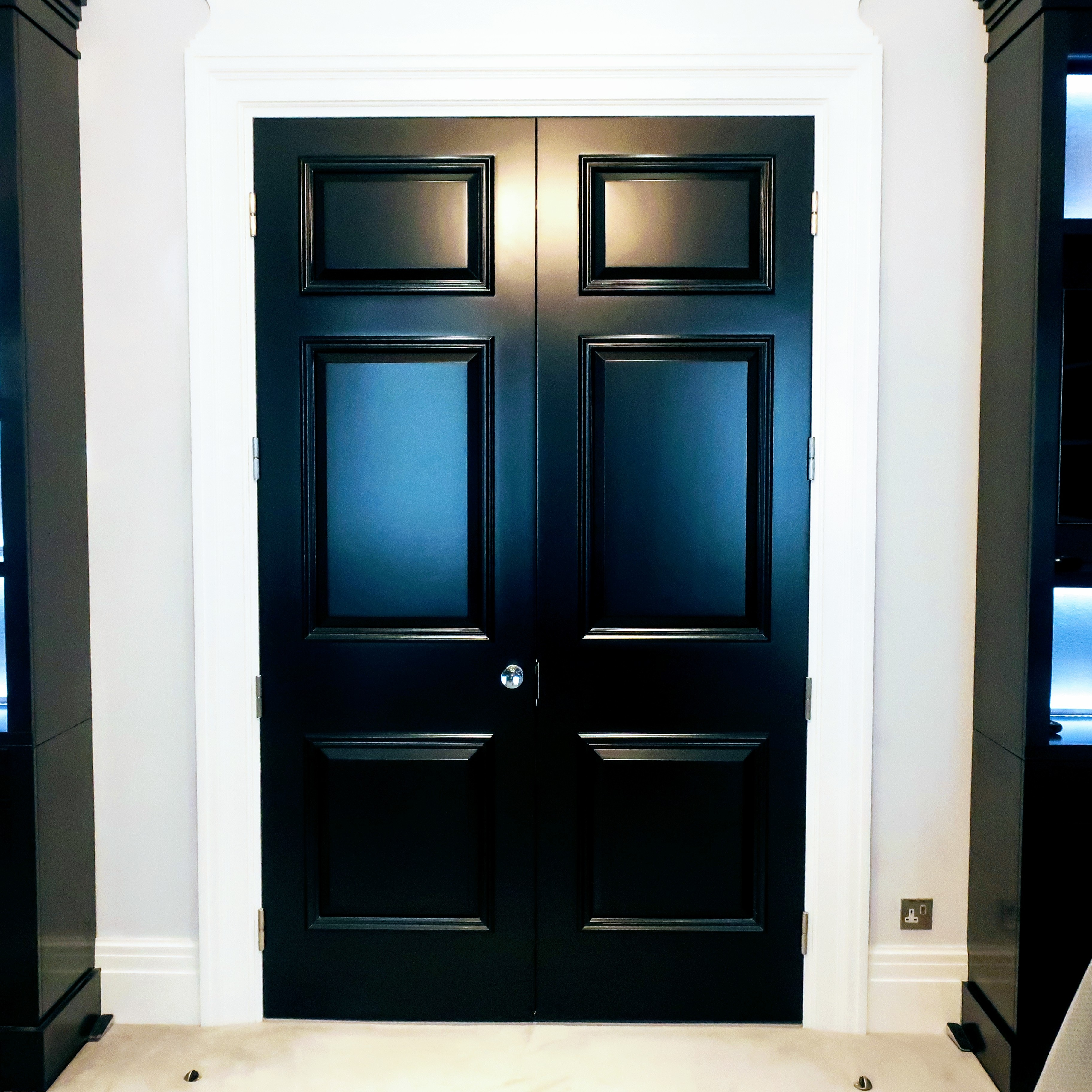 Acoustic Double Doors